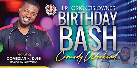 Comedian K Dubb at J.R. Crickets tickets