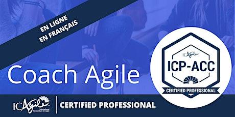 Formation Coach Agile Certifié - ICP-ACC Certificat ICAgile billets