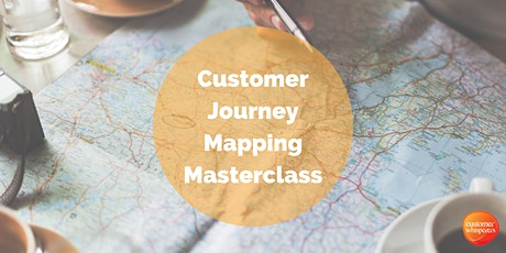Customer Journey Mapping Masterclass tickets