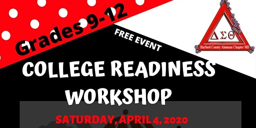 The College Readiness Workshop