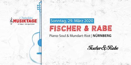 2.HMT: Fischer & Rabe Tickets