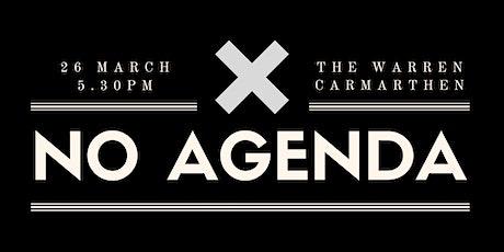 No Agenda Networking Event - Carmarthen tickets
