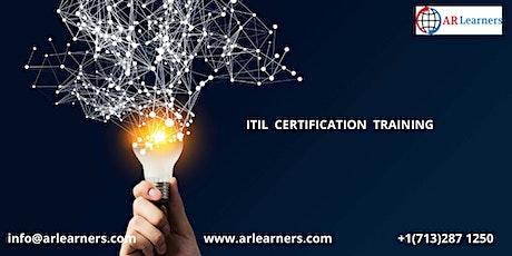 ITIL V4 Certification Training in Kansas City, MI ,USA tickets