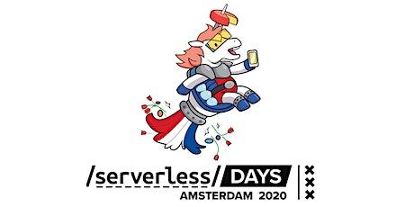 ServerlessDays Amsterdam 2020 tickets