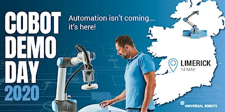 Cobot Demo Day 2020 | Limerick , rescheduled due to Covid-19 tickets
