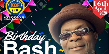 Birthday Bash for D-Noble tickets