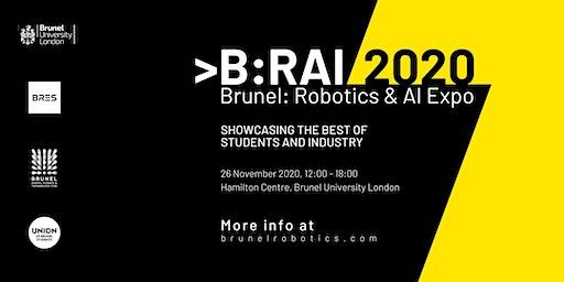 B:RAI // 2020, Brunel: Robotics & AI Expo