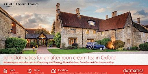 Dotmatics Seminar 2020 - Oxford