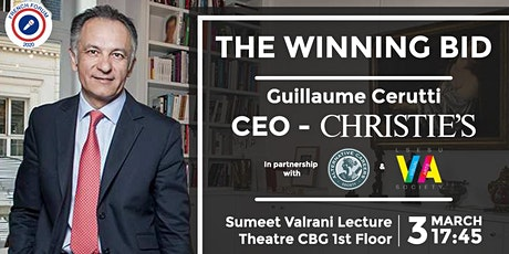 The Winning Bid - CEO Christie's tickets