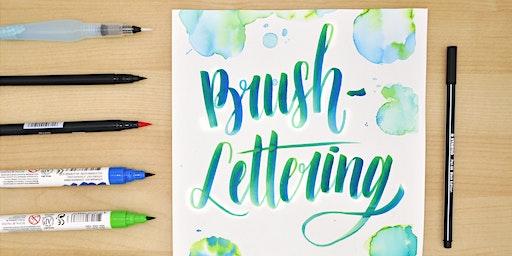 Brush-Lettering und wie es funktioniert! - St. Pölten
