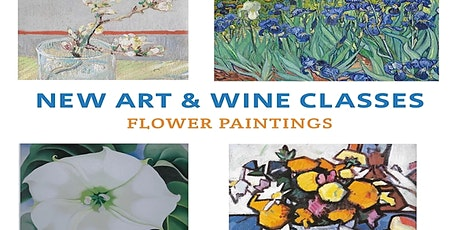 Art + Wine Evening 'Flowers' tickets