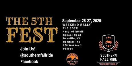 Southern  Fall Ride 2020 tickets