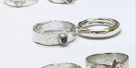 Silver clay ring-making tickets