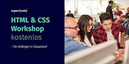 HTML & CSS Workshop kostenlos –für Anfänger in Düsseldorf