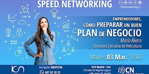 Emprendedores: Cómo preparar un buen plan de Negocio & Speed Networking