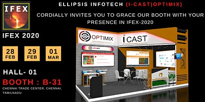 IFEX-2020 -Ellipsis Infotech (I-CAST   OPTIMIX )