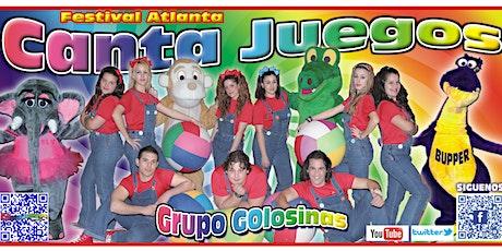 Canta Juegos Grupo Golosinas en Cádiz entradas