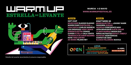 WARM UP Estrella de Levante 2020 entradas