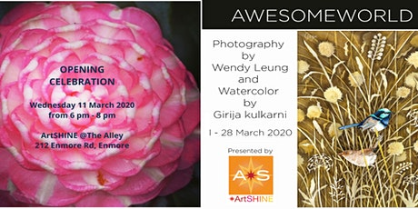 Awesome World  A joint exhibition by Wendy Leung & Girija Kulkarni tickets