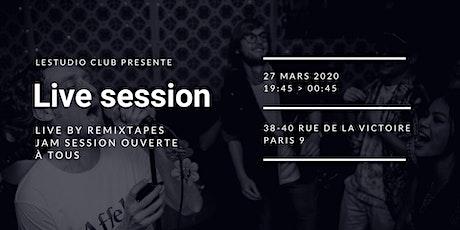 Jam & Live Session billets