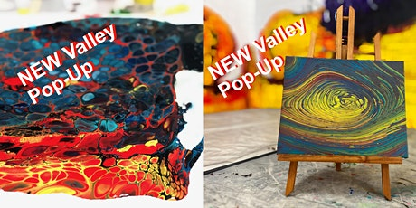 Valley Pop-up Paint Pouring Down and Dirty and Loop de Loop  13.3.20 tickets