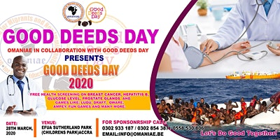 OMANIAE  IN COLLABORATION WITH GOOD DEEDS DAY - PRESENT GOOD DEEDS DAY 2020