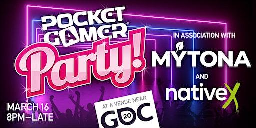 Pocket Gamer Party @ GDC 2020