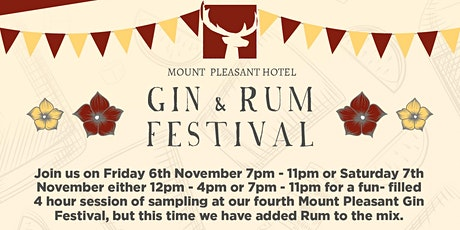 Gin & Rum Festival tickets