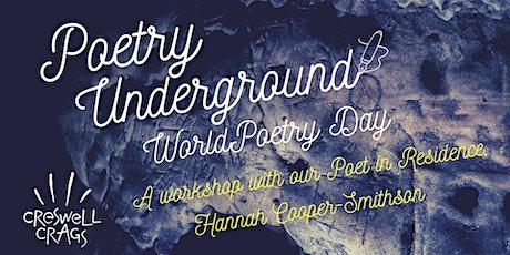 Poetry Underground: World Poetry Day Workshop tickets