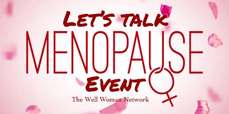 Let's Talk Menopause tickets
