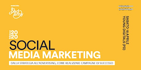 Social Media Marketing - dalla strategia all'advertising, come realizzare campagne di successo biglietti