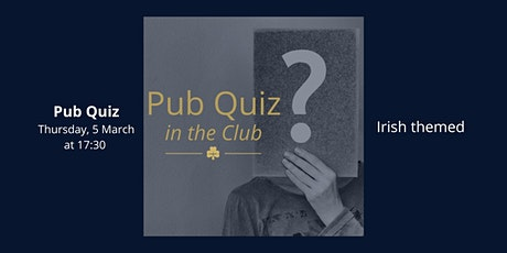 Irish Themed - General Knowledge Quiz tickets
