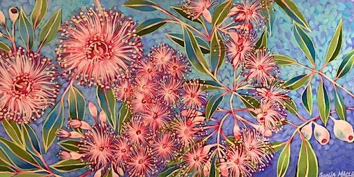 ART & WINE Paint Wild Australian Natives with Sonja Maclean