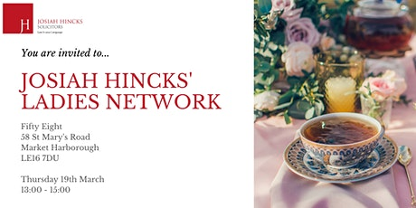 Josiah Hincks Ladies Network tickets