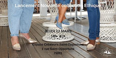 Padoma Paris - Lancement de la nouvelle collection éthique billets