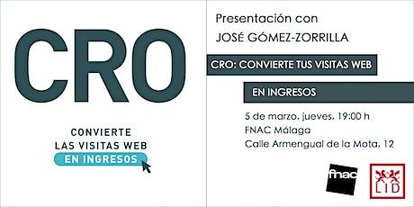 CRO: Convierte tus vistas web en ingresos entradas