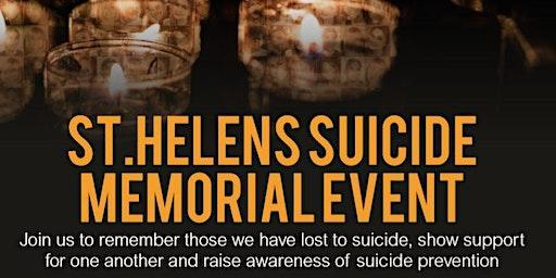 St Helens Suicide Memorial Event