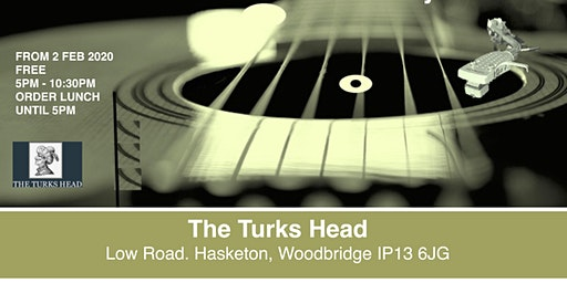 1st sunday sessions at The Turks Head  March 2020
