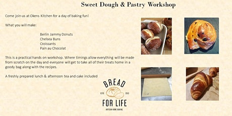 Sweet Dough & Pastry workshop tickets