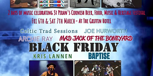 St Piran's Cornish Beer, Food, Music & Heritage Festival CONCERT
