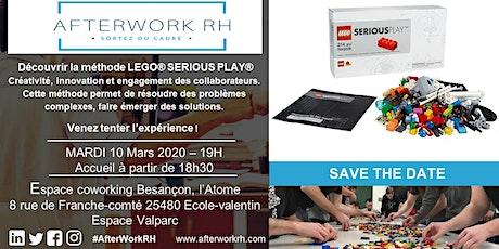 AfterWork RH Besançon: découvrir la Méthode LEGO® SERIOUS PLAY® billets