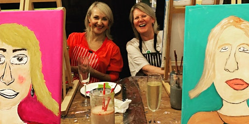ART & WINE Paint your Partner/Friend with Sonja Maclean