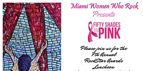 """Miami Women Who Rock """"Fifty Shades of Pink"""" tickets"""