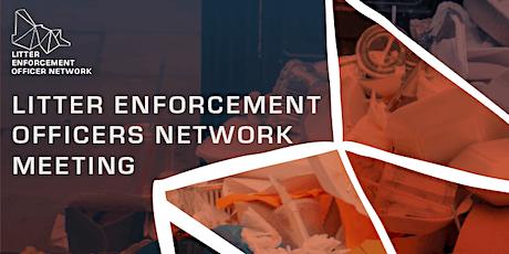 Litter Enforcement Officer Network meeting tickets