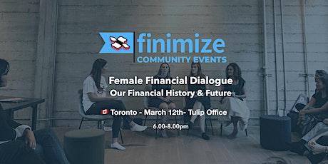 Female Financial Dialogue | Toronto tickets