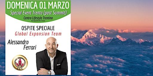 TRENTO (EVENTO GRATUITO) - Special Event Business Opportunity Meeting