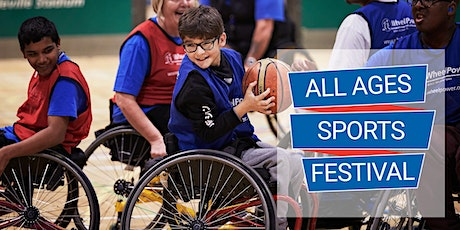 WheelPower All Ages Sports Festival - Tuesday 10 November 2020 tickets