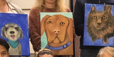 ART & WINE Guided Paint your Pet with Sonja Maclean tickets