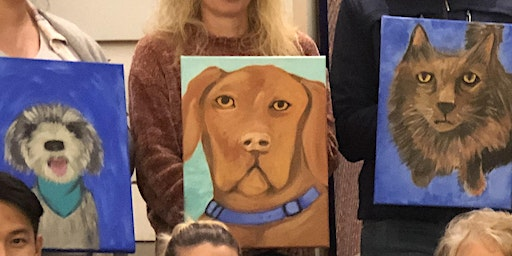 ART & WINE Guided Paint your Pet with Sonja Maclean