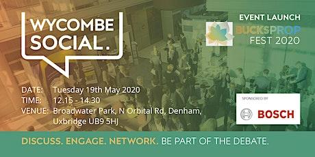 Wycombe Social - 19 May 2020 tickets